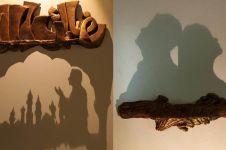 10 Karya shadow art dari tanah liat ini hasilnya bikin takjub