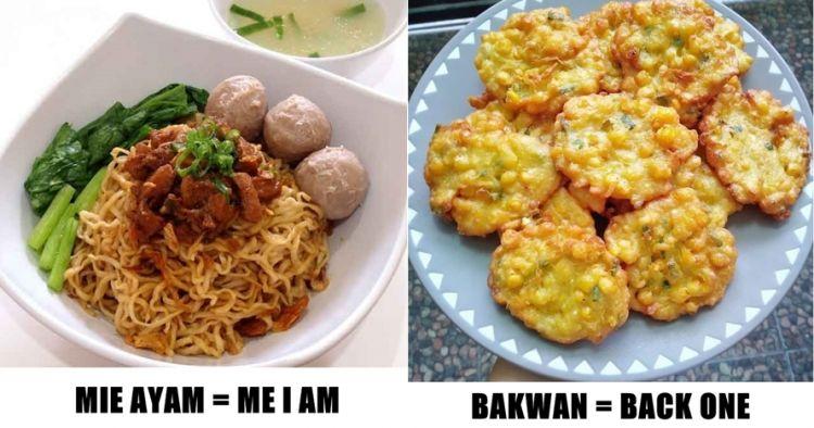 Masakan Indonesia Dalam Bahasa Inggris