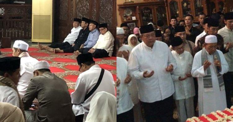 Warga mulai berdatangan melayat jenazah Ani Yudhoyono di Puri Cikeas