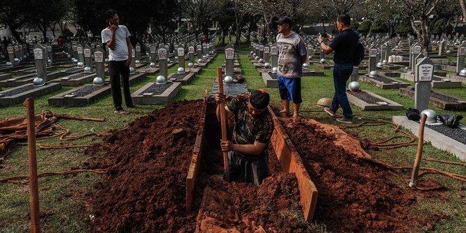 Ini prosesi pemakaman Ani Yudhoyono, Jokowi jadi Inspektur upacara