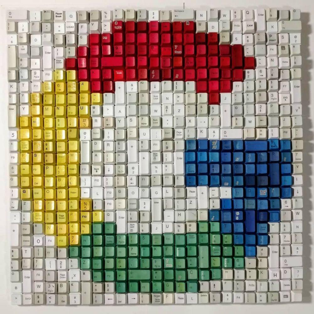 lukisan tombol keyboard © 2019 Istimewa