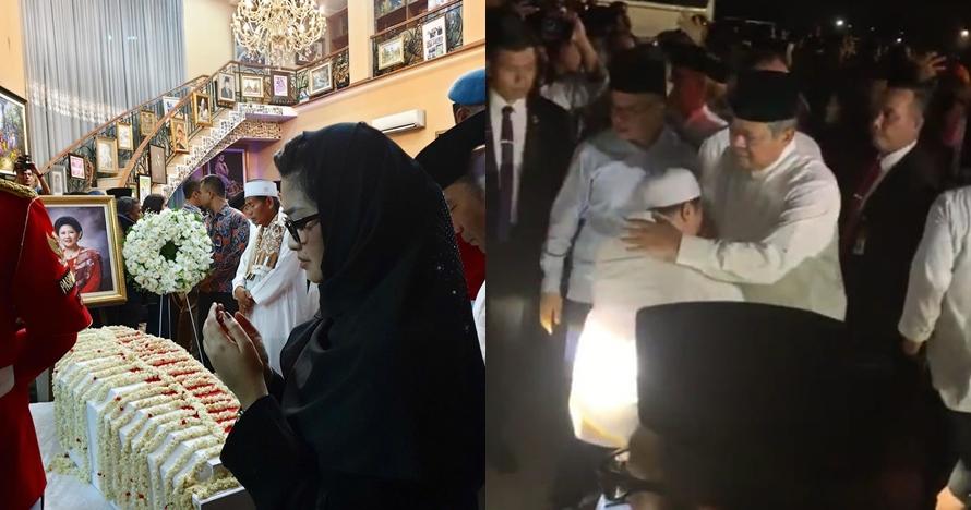 Momen 6 seleb melayat Ani Yudhoyono, suasananya haru