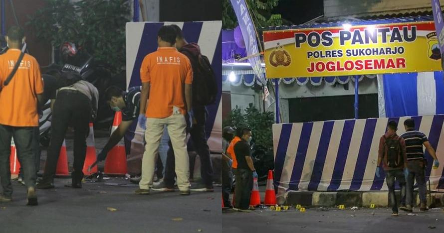 5 Fakta ledakan bom di Pospol Kartasura, tak ada korban jiwa