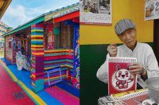 10 Potret desa penuh doodle, kisah di baliknya bikin haru
