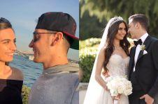 11 Potret mesra Mesut Ozil & Amine Gulse sebelum menikah, sweet abis