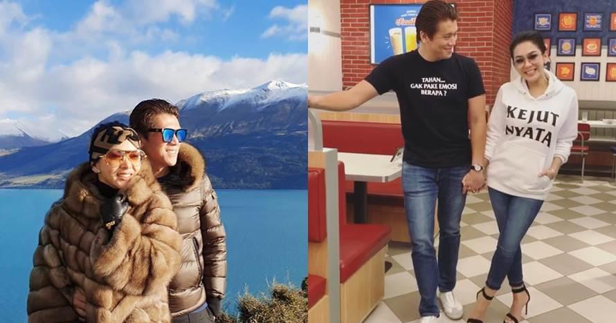8 Momen Syahrini & Reino Barack bulan madu ke New Zealand, romantis