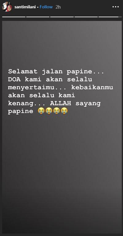 Ayah Dewi Perssik meninggal dunia © 2019 brilio.net