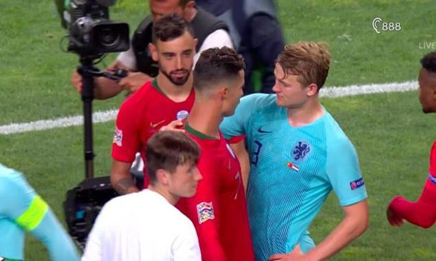 Matthijs De Ligt: Ronaldo mengajakku gabung Juventus