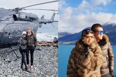 Bulan madu ke New Zealand, outfit Syahrini seharga mobil