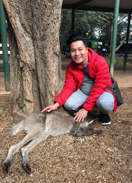 raffi ahmad liburan ke australia © 2019 brilio.net