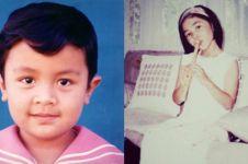 10 Foto jadul penyanyi Indonesia semasa kecil ini bikin pangling