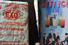 6 Barang dagangan di Indonesia ini mirip nama grup idol Korea