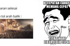 11 Meme lucu Lebaran telah usai ini bikin auto cengar-cengir