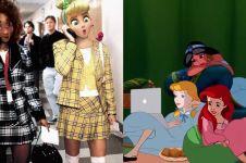 10 Editan karakter Disney ini gambarkan kehidupan sehari-hari