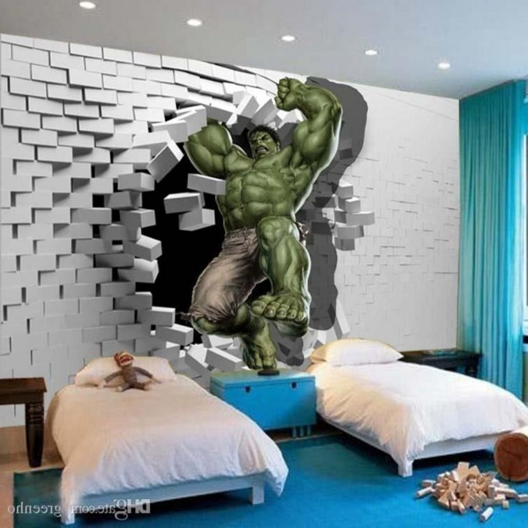 10 Desain Mural Dinding 3d Ini Bikin Suasana Rumah Jadi Berbeda