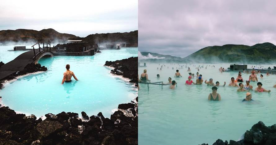 10 Foto Instagram vs realita ini buktikan liburan tak selalu indah