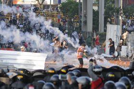 Polri sebut perusuh 22 Mei gunakan benda mematikan untuk serang polisi