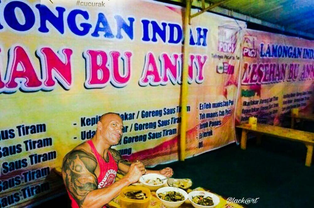 seleb dunia makan jajanan indonesia © berbagai sumber