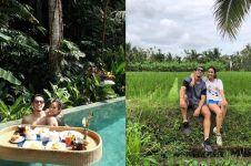 5 Potret bulan madu Ryuji Utomo & Shabrina Ayu di Bali, romantis