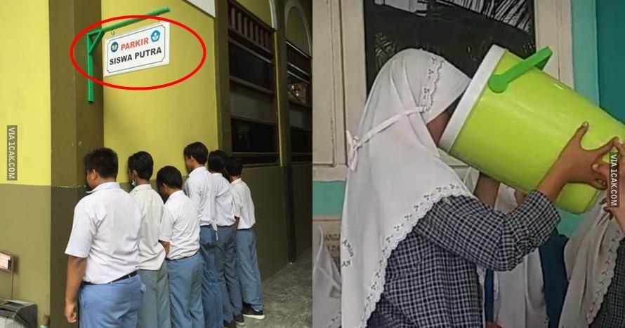 11 Momen absurd cuma ada di sekolah ini bikin senyum nostalgia