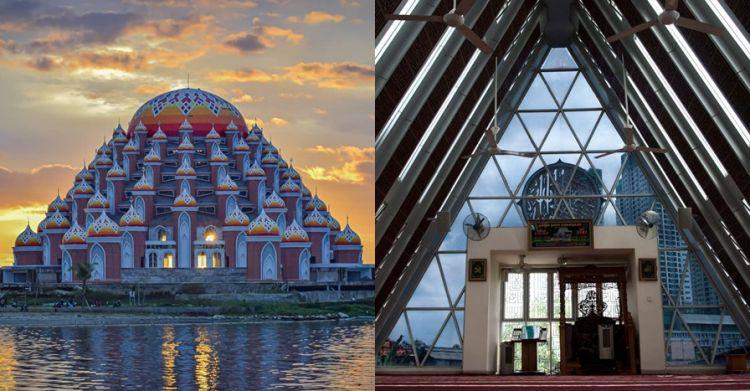 8 Masjid rancangan Ridwan Kamil ini bernilai artistik tinggi