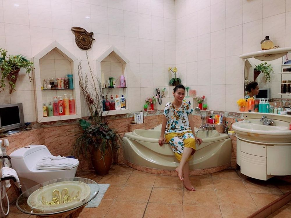 kamar mandi rumah inul di pasuruan © 2019 brilio.net