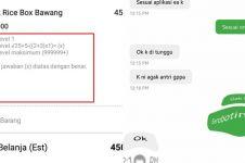 7 Chat lucu request pelanggan saat pesan makanan di ojek online