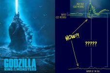10 Jawaban kenapa Godzilla bisa berdiri di atas laut ini bikin ngakak