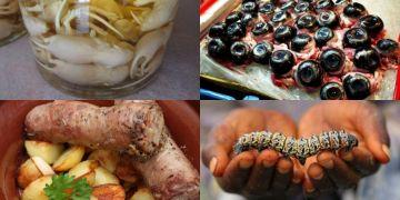 Street food 10 negara ini bikin mual, bahan bakunya ekstrem