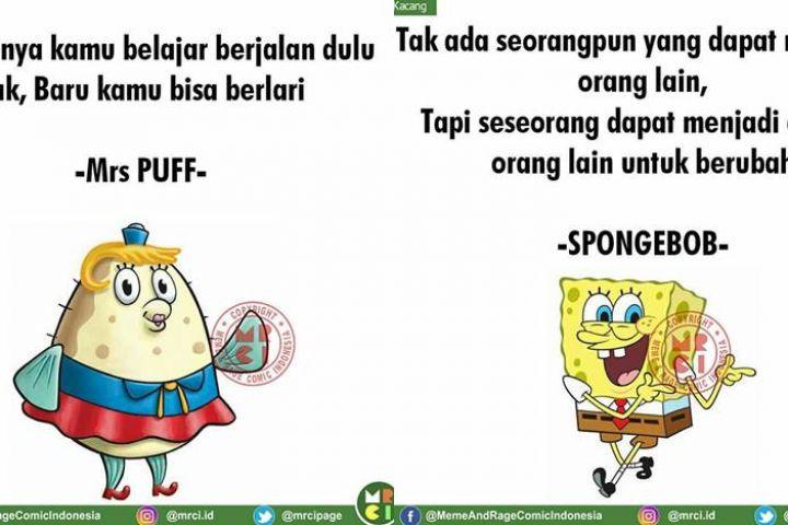 10 Kata-kata bijak ala SpongeBob dan kawan-kawan ini ngena banget