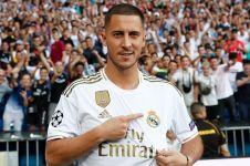 Dikenalkan Real Madrid, Eden Hazard bicara soal kans raih Ballon d'Or