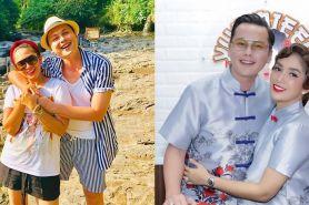 8 Potret mesra Ussy Sulistiawaty & Andhika di Bali, bak ABG kasmaran