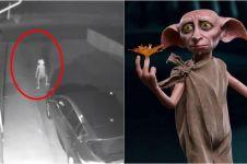 Penampakan sosok serem mirip 'Dobby' Harry Potter, bikin merinding
