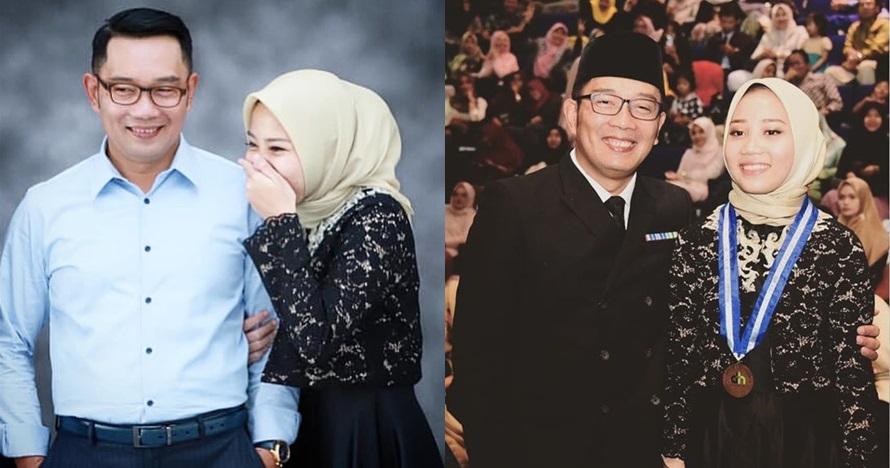 Nilai UN putrinya nyaris sempurna, ini nasihat Ridwan Kamil