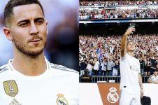 Ini gaji Eden Hazard di Real Madrid, kalahkan Gareth Bale