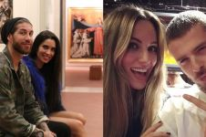 10 Pesepak bola ini punya pasangan presenter TV