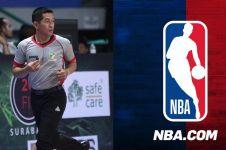 Tak banyak yang tahu, wasit Indonesia ini pernah pimpin laga NBA
