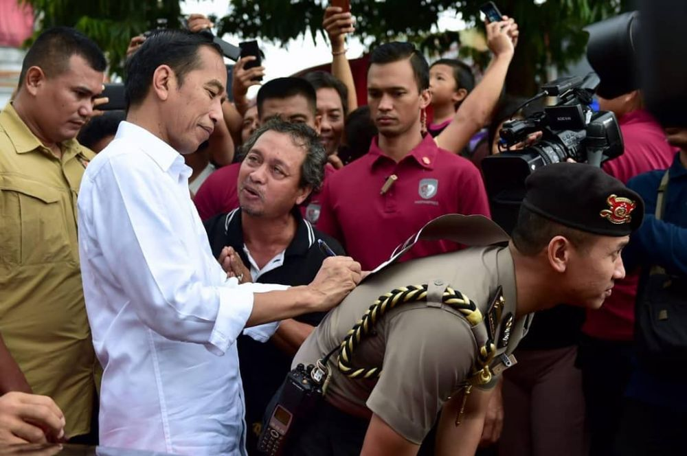Momen tiga Presiden Indonesia  istimewa