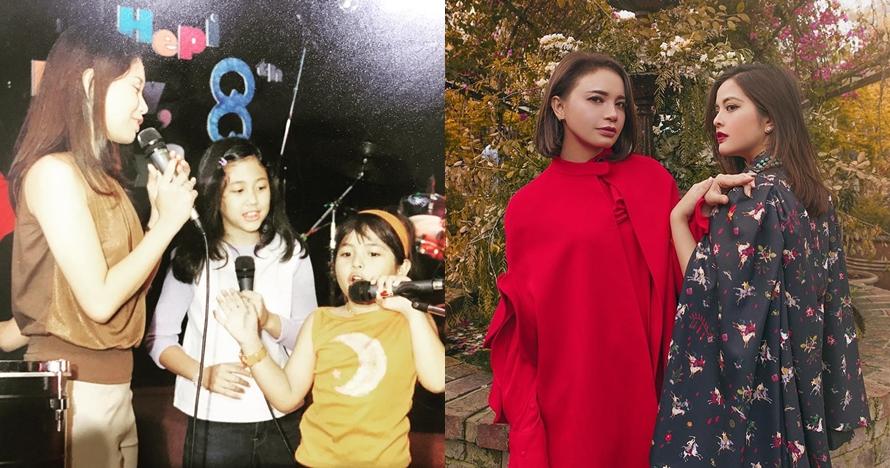 Bersahabat sejak TK, ini 10 potret kekompakan Tasya Kamila & Rossa