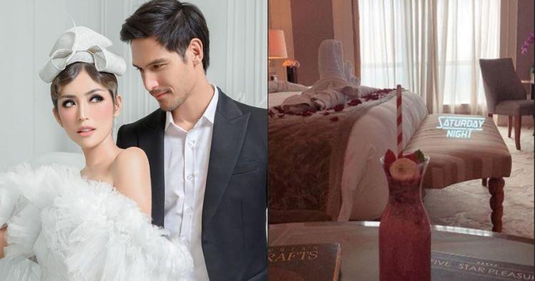 8 Potret kamar mewah Jessica Iskandar menginap di hari pertunangan