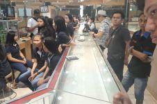 Perampok berpistol gasak 6 kg emas di Tangerang
