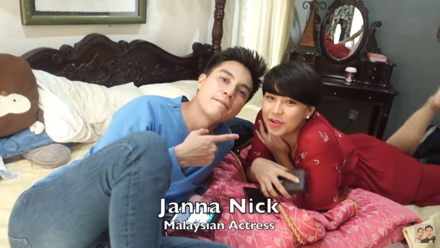 Baim Wong dan Janna Nick instagram