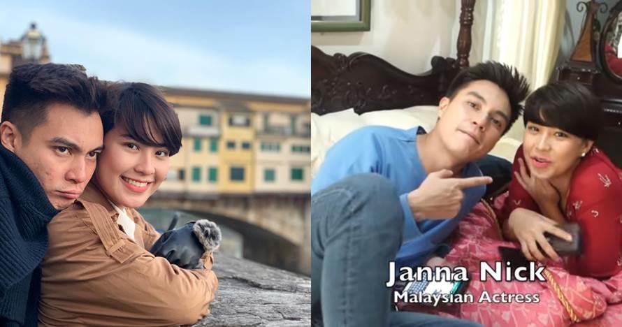 Main satu drama, ini keakraban Baim Wong & Janna Nick asal Malaysia