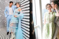 Pamer foto kebahagiaan tunangan, gaun Jessica Iskandar jadi sorotan