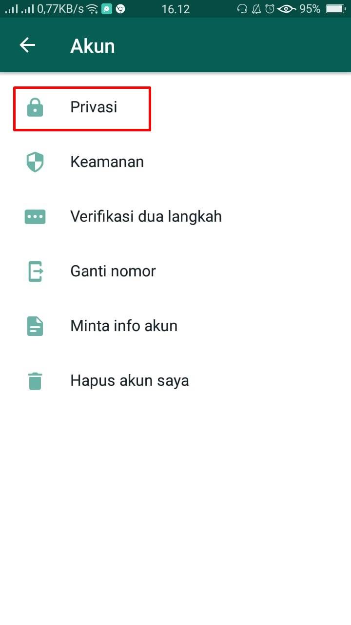 Cara sembunyikan status WhatsApp pixabay