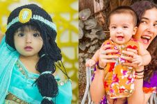 8 Potret keponakan Tasya Farasya ini imut abis, bak boneka hidup