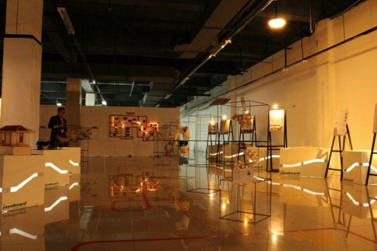 Pameran arsitektur ini menampilkan instalasi hype dan instagramable