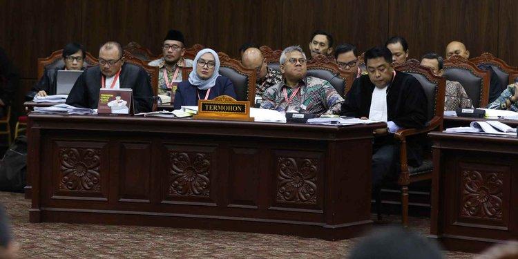 KPU tolak permohonan Prabowo-Sandi di sidang lanjutan MK