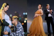 Potret maternity jadi sorotan, istri Reza SM*SH lahiran anak pertama