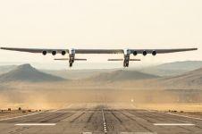 Penampakan pesawat terbesar di dunia, dijual Rp 5,7 triliun